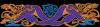 Celtic border bleu inv