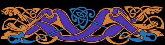 Armanel, conteur celte, entrelac celtique BOB1