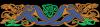 Celtic border bleu v inv