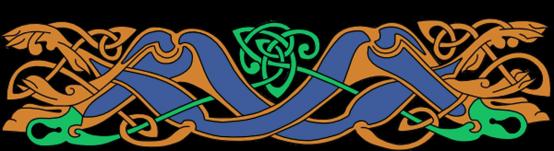 Armanel, conteur celte, entrelac celtique BOV1