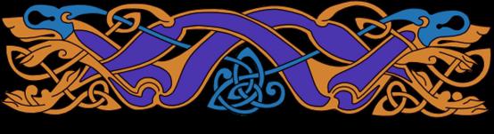 Armanel, conteur celte, entrelac celtique BOB