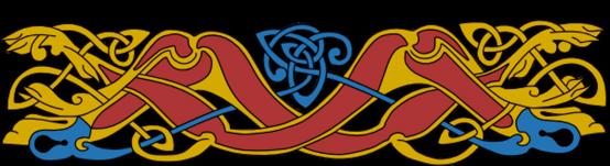 Armanel, conteur celte, entrelac celtique ROB1