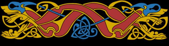 Armanel, conteur celte, entrelac celtique ROB