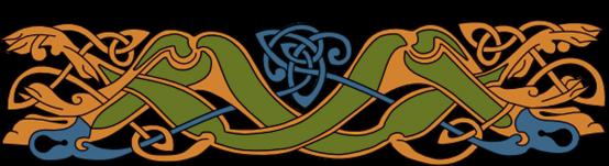 Armanel, conteur celte, entrelac celtique VOB1
