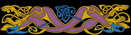 Armanel, conteur celte, entrelac celtique ROB 21