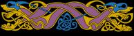 Armanel, conteur celte, entrelac celtique ROB 2