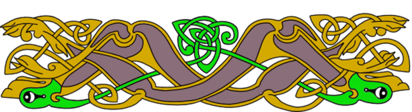 Armanel, conteur celte, entrelac celtique RJV1