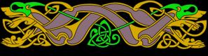 Armanel, conteur celte, entrelac celtique RJV