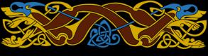 Armanel, conteur celte, entrelac celtique MOB