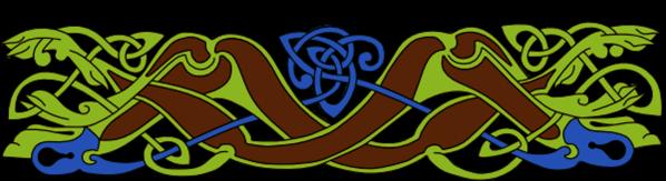 Armanel, conteur celte, entrelac celtique MVB1