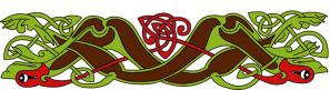 Armanel, conteur celte, entrelac celtique MVR1