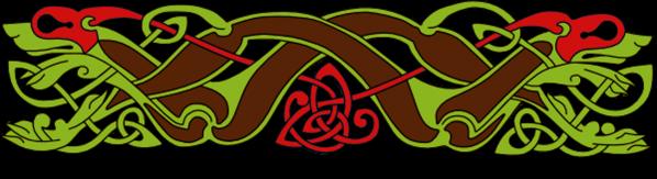 Armanel, conteur celte, entrelac celtique MVR