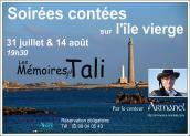Armanel, conteur breton, Ile Vierge